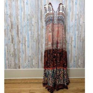 NWOT Soft Surroundings Boho Maxi dress size L
